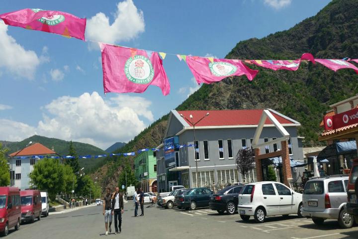 Qyteti verior i Pukës. Foto: Lindita Çela