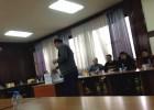 Gjatë votimeve në Universitetin e Prishtinës