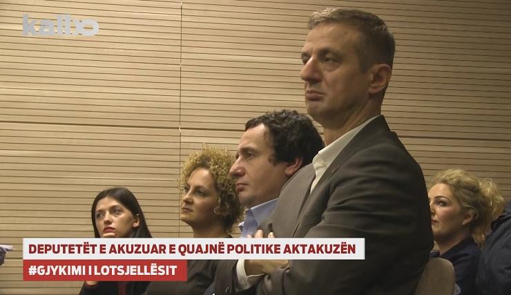 deputetet opozitare ne gjyq