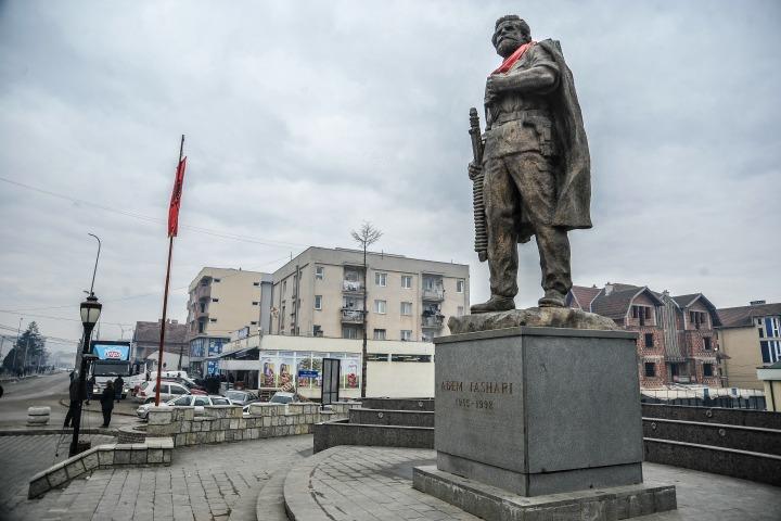 Monumenti i Adem Jasharit në Skenderaj | Foto: Atdhe Mulla