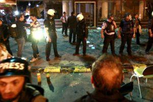 Protestat anti-qeveritare në Maqedoni   Foto: BETA