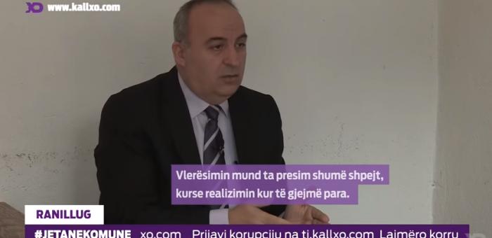 Gradimir Mikiq, kryetar i komunës së Ranillugut