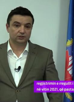Vladeta Kostiq, kryetar i komunës së Graçanicës