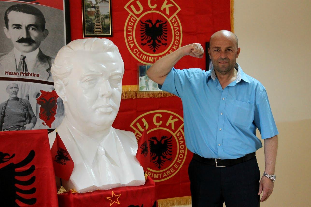 Sekretari i Frontit Popullor për Kultivimin e Veprës së Shokut Enver Hoxha, Agim Xhigoli | Foto nga Rron Gjinovci