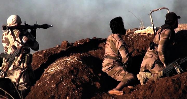 Luftëtarë në Siri | Foto nga materiale propagandistike të ISIS