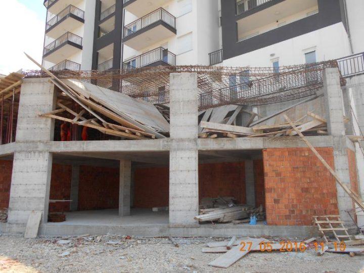 Rrënimi i shtesës pa leje të objektit | Foto: Komuna e Prishtinës