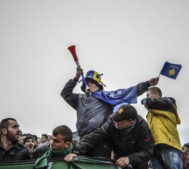 Tifozë kosovarë | Foto: Atdhe Mulla
