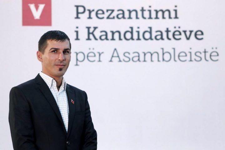 Azbi Gashi, asamblisti i LVV-së në Rahovec - Foto: Facebook