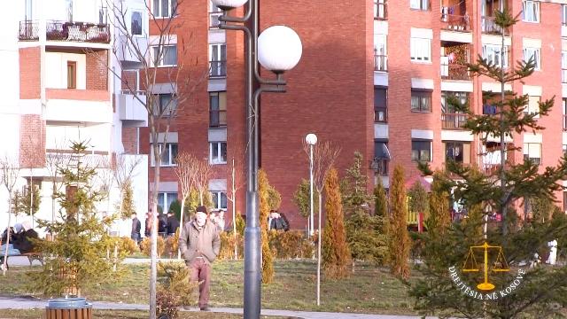 Blloku i banesave ku ndodhet banesa e çerdhes. Foto: KALLXO.com