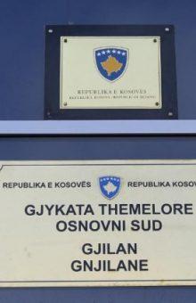 Gjykata Themelore në Gjilan - Foto: KALLXO.com