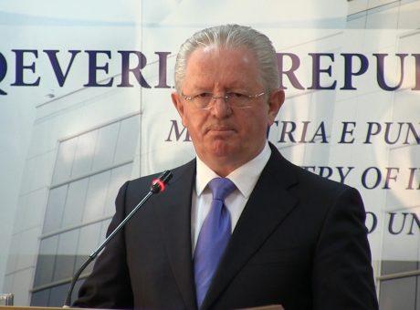 Skender Hyseni, Ministër i Punëve të Brendshme I Foto: Kallxo.com