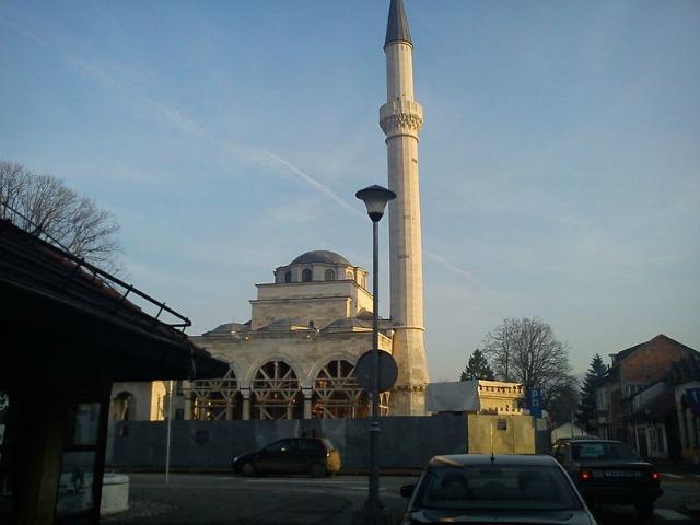 Xhamia Ferhadija në Banja Llukë. Foto: Wikimedia/Zlatno Krilo.
