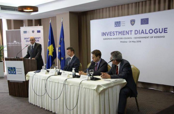 Dialogu për investime. Foto: Zyra e Kryeministrit