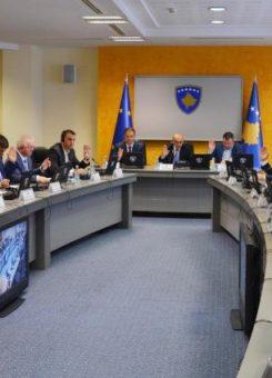Mbledhja e qeverisë | Foto: Zyra e Kryeministrit