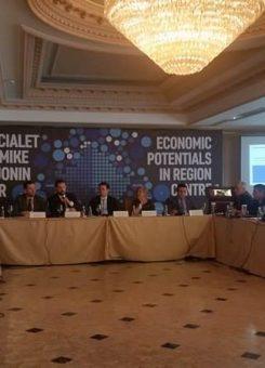 Pamje nga konferenca për potencialet e rajonit Qendër - Foto: KALLXO.com