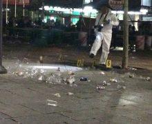Pamje pas incidentit të mbrëmshëm gjatë festës së birrës - Foto: KALLXO.com