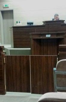 Pamje nga seanca e së enjtes në gjykimin e Sadik Rashitit - Foto: KALLXO.com