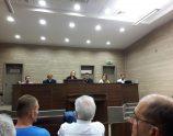 """Pamje nga seanca ku u shpall aktgjykimi për shpërthimin te lokali """"Sekiraqa"""" – Foto: KALLXO.com"""
