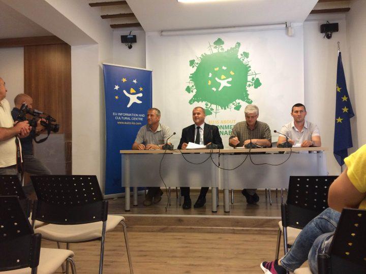 Pamje nga konferenca e Inspektoratit të Punës - Foto: KALLXO.com