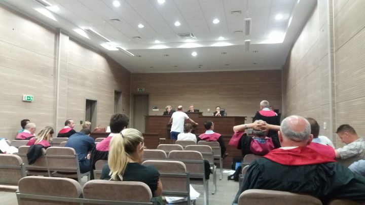 Pamje nga seanca në rastin e MTPT-së - Foto: KALLXO.com