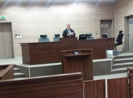Pamje nga seanca ku u shpall aktgjykimi për manipulimet me patentë-shoferë - Foto: KALLXO.com