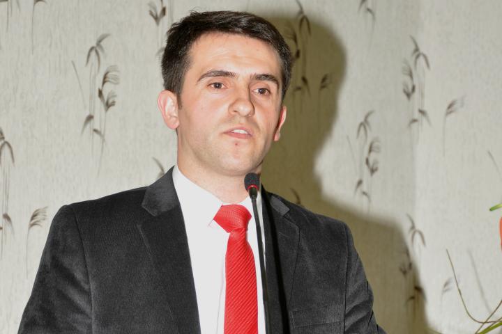 Shefit i Departamenti të Historisë, dr. Selim Bezeraj | Foto: Klubi Politik Egje & Adriatik