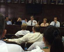 Pamje nga mbledhja e djeshme e Senatit të UP-së - Foto: KALLXO.com