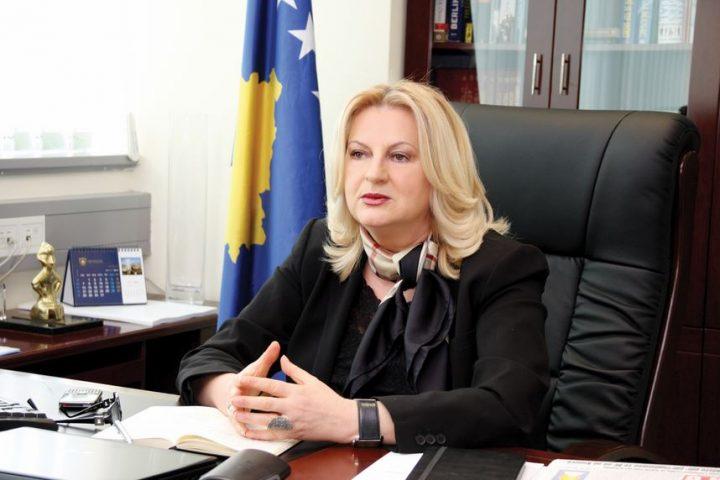 Ministrja për Dialog, Edita Tahiri - Foto: Qeveria e Kosovës