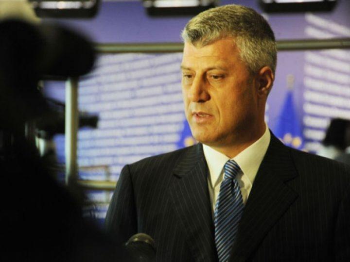 Presidenti Hashim Thaçi | Foto; ZKM