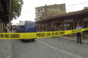 Vendi i ngjarjes së vrasjes së trefishtë në Gjakovë   Foto: KALLXO.com