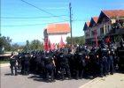 Nga protesta e djeshme në Mushtisht | Foto: KALLXO.com
