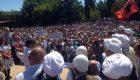 Protesta në Pejë | Foto: KALLXO.com