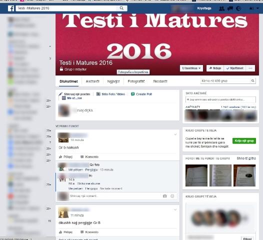 Testi I Matures 2016