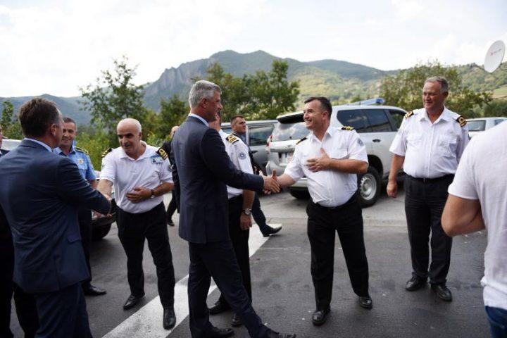 Vizita e Thaçit në Jarinjë | Foto: Zyra e Presidentit