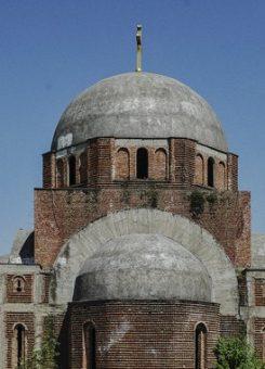 Kisha ortodokse në kampusin e Universitetit të Prishtinës | Foto: Atdhe Mulla