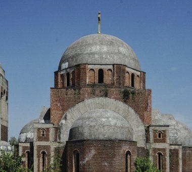Kisha ortodokse në kampusin e Universitetit të Prishtinës   Foto: Atdhe Mulla
