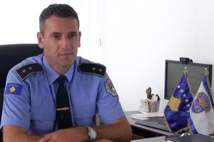 Drejtori i policisë Nehat Thaçi   Foto: KALLXO.com