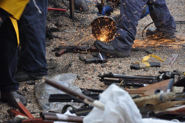 Nga një shkatërrim i mëhershëm i armëve   Foto: KALLXO.com