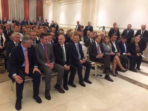 Pamje nga ceremonia në përvjetorin e themelimit të Gjykatës Kushtetuese - Foto: KALLXO.com