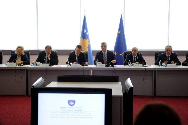 Mbledhja e Këshillit Kombëtar për Integrim Evropian - Foto: Zyra e Presidentit