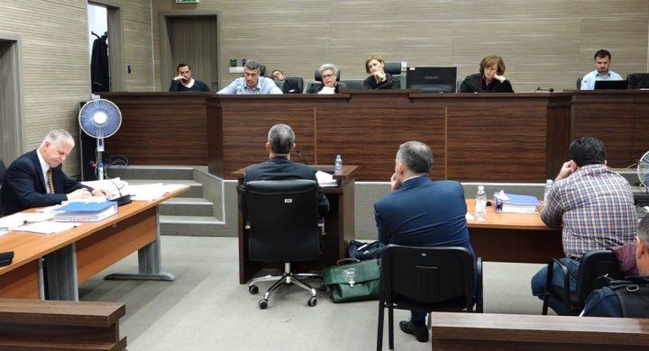 Pamje nga seanca e sotme gjyqësore në rastin e Naser Kelmendit - Foto: KALLXO.com