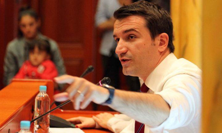 Kryetari i Bashkisë së Tiranës, Erion Veliaj