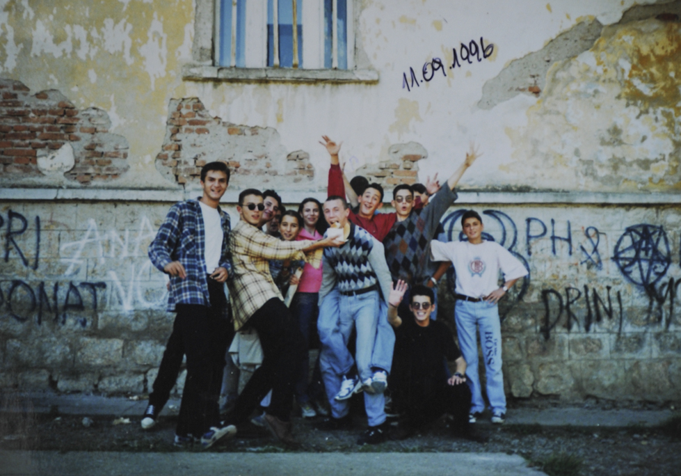 Foto të Sead Ramës gjatë vitetve të studimit nën okupim