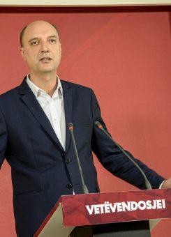 Kryetari i VV-së, Visar Ymeri - Foto: Vetëvendosje