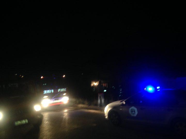Zjarrfikësit dhe Policia në vendin e ngjarjes - Foto: KALLXO.com
