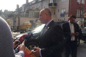 Haradinaj pas daljes nga takimi | Foto: KALLXO.com