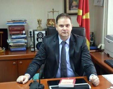 Kreu i Gjykatës Penale të Shkupit, Vladimir Pançevski- Foto: osskopje1
