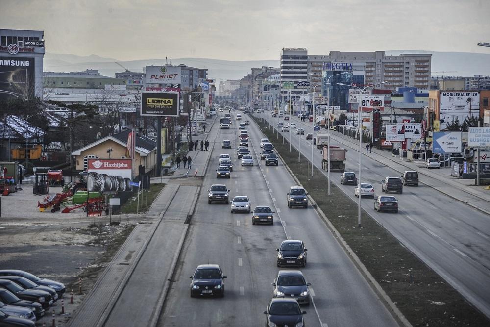Pamje nga zona industriale në Fushë Kosovë | Foto: Atdhe Mulla