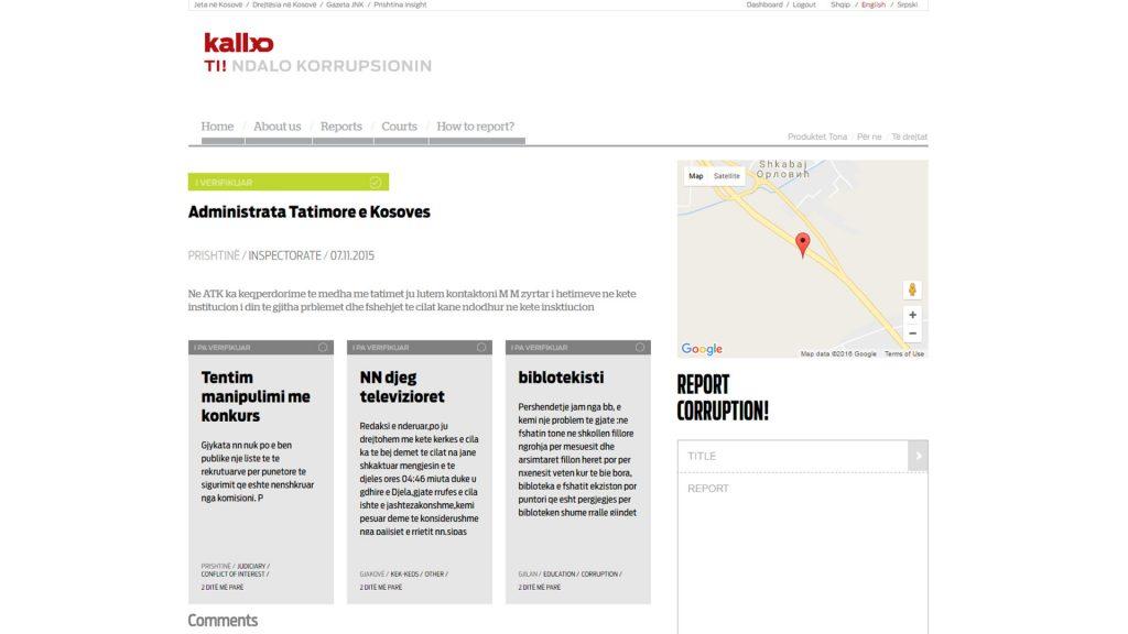 Raporti i Murat Mehmetit i dërguar në KALLXO.com ku ai kallxon për shkeljet në ATK.