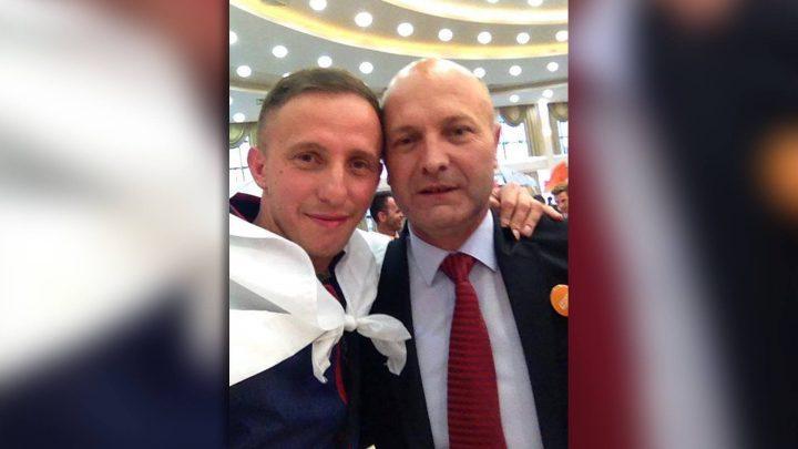 Fadil Xhemajlaj, kryesuesi i vendvotimit dhe Isa Xhemajlaj, kandidat i Nismës për kryetar të Drenasit - Foto: Facebook.com